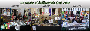 NDK Booth Evolution and Thanks by MadMouseMedia