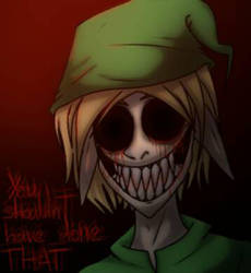 Ben Drowned art by Mrs-Spring45