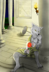 Wolf's Sigh by dreamingcat0226