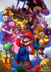 Super Mario Bros. Team Adventure by LC-Holy