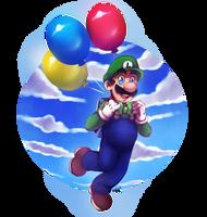Luigi's Balloon World - Super Mario Odyssey by LC-Holy