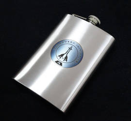 Andromeda Initiative Flask by Katlinegrey