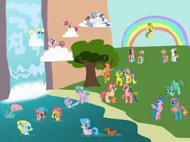 G1 Ponies- Year Two by EliteGalaxy