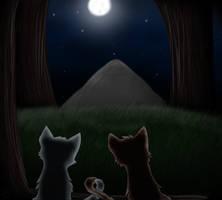 Bluefur and Oakheart *spoilers alert!* by xSwiftbreezex
