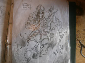 Assassins's creed III Connor by Katexvalon123