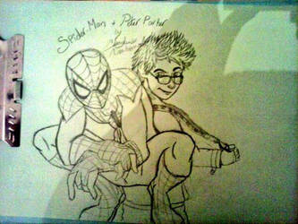 Spidey and Pete! by Katexvalon123