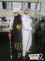 Vergo and Law - One Piece (cosplay) by MugiwaraTeamCosplay