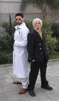 Vergo and Sanji - One Piece (cosplay) by MugiwaraTeamCosplay