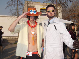 Vergo and Ace - One Piece (cosplay) by MugiwaraTeamCosplay