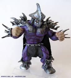 Super Shredder Custom Figure by halegrafx