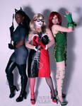Gotham Girls by Mistress-Zelda