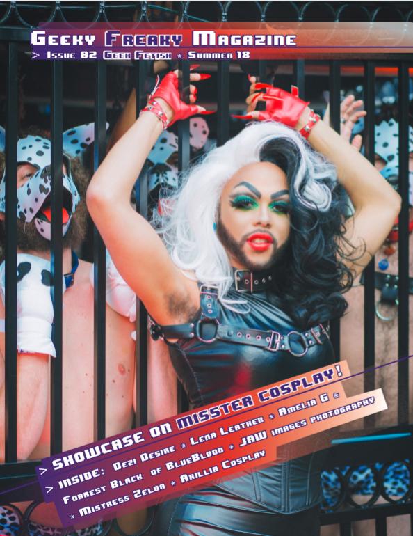 Geeky Freaky Magazine Cover 2 by Mistress-Zelda