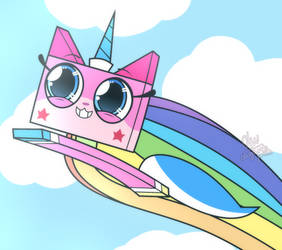 Unikitty! [Fan art] by OatmealSama