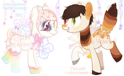 Spring and autumn [Adopts OPEN] by OatmealSama