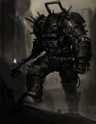 Raider power armor by MuHut