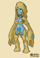 Cute Golemgirl (mud) by MuHut