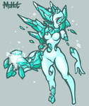 Cute Spirit of Ice by MuHut