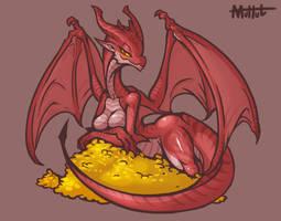 Cute Dragon by MuHut
