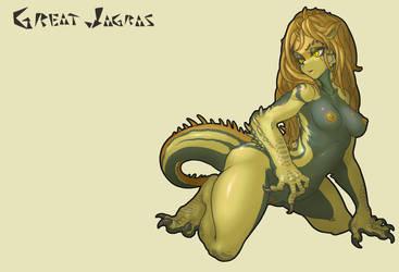Great Jagras humanization +18 by MuHut