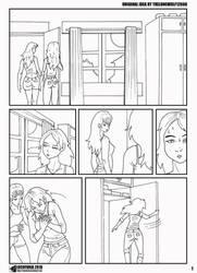 Locofuria's Sandra Transformation 1 by TheLoneWolf12666