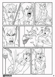 Locofuria's Sandra Transformation 4 by TheLoneWolf12666