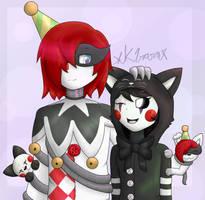 Ennard x Marionette by XK1RARAX