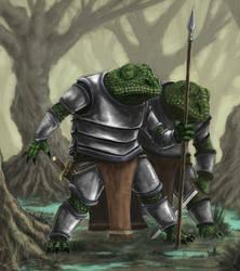 lizardmen by misledtomisery