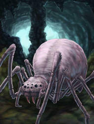 Vampspider-final by misledtomisery