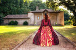 For shadow summer Ball gown's Perlasanguis by Arts-of-Cendrayliss