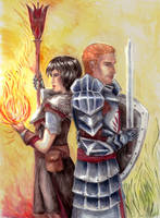 The Templar and The Mage by Inveleth