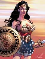 Wonder Woman by viniciustownsend