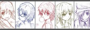 Katawa Shoujo doodle by Rvinguard