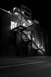 Stairs at night 2 by OrangeUtan