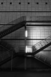 Stairs at night 1 by OrangeUtan