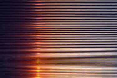 Industrial sundown by OrangeUtan