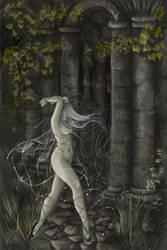 Music through the Gate by darklyartistic