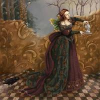 Tea Time by darklyartistic