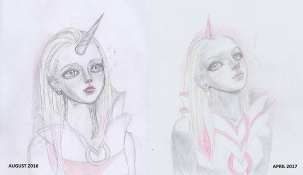 Unicorn Girl Draw This Again By Annamm On Deviantart