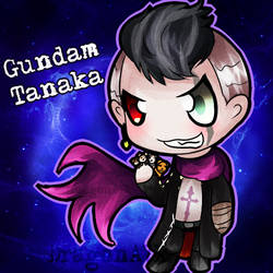 Gundam Tanaka by DragonA7X