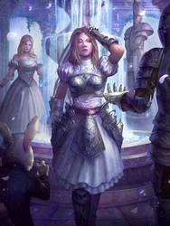 Alice, Champion of The Undeland by cha4os