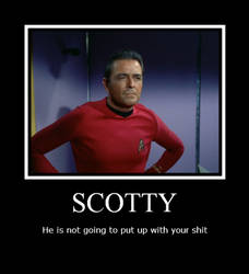 Scotty Poster by Rahal-Stmin