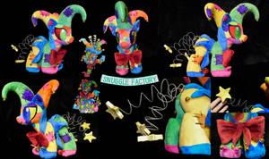 Fool Custom OC Plushie by SnuggleFactory