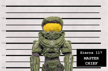 Master Chief Custom Plush Mugshot by SnuggleFactory