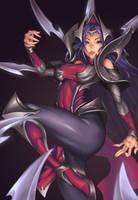 Irelia, the Blade Dancer by Platinum-Disco