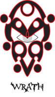 Sin symbol WRATH by LarsJack
