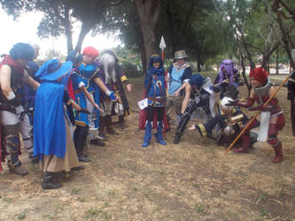 AnimeFEST 2015 - WHAT ARE THOOOSE?! by Shadarkness
