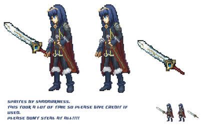 *CUSTOM-MADE Lucina Sprite - Fire Emblem Awakening by Shadarkness