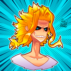ALL MIGHT by rozhvector