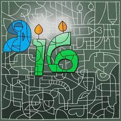 Happy Birthday DA by RedTigger