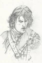 Outlander-Jamie Fraser by RedTigger